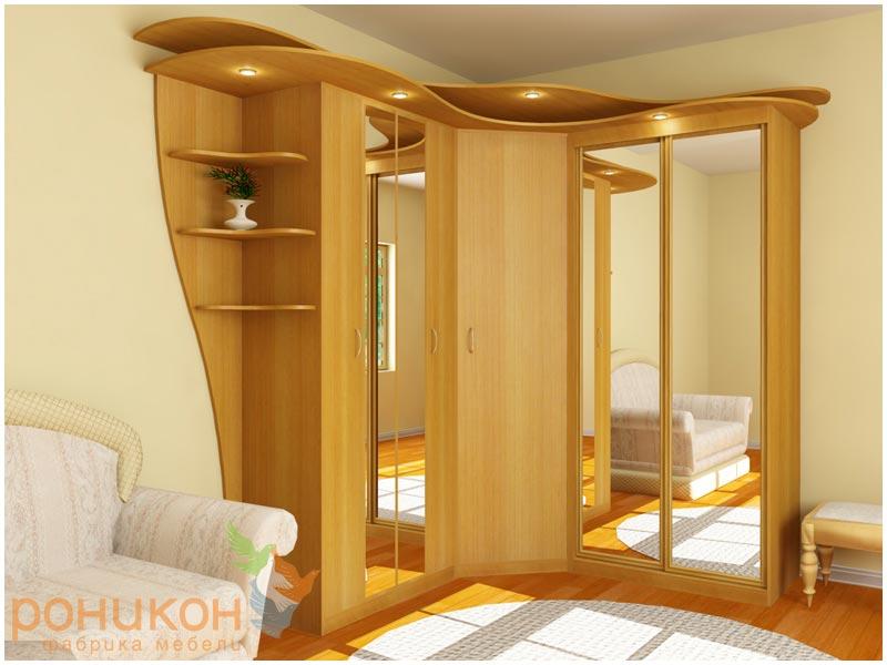 Изящная модель мебель шкаф купе для